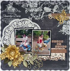 Layout: young at heart {Heartfelt Creations DT}