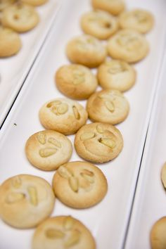 Pignoli Cookies - Amazing photos by @Josh Strauss Studios from our pop up dinner on July 22. Southern Italian Food and Ambiance. Yum!