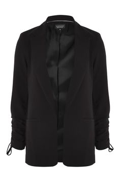 Ruched Sleeve Blazer - New In Fashion - New In - Topshop