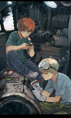 Katekyo hitman reborn - Shouichi x Spanner Hitman Reborn, Reborn Katekyo Hitman, Chica Anime Manga, Anime Guys, Anime Art, Character Inspiration, Character Art, Character Design, Mafia