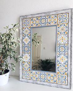 1 million+ Stunning Free Images to Use Anywhere Decor, Ceramic Tile Art, Painted Furniture, Interior Architecture Design, Diy Tile, Mirror Decor, Diy Tile Mirror, Tile Crafts, Diy Wall Art Decor