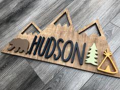 Rustic Cabin Decor, Lodge Decor, Rustic Cabins, Log Cabins, Nursery Themes, Nursery Prints, Themed Nursery, Cnc Maschine, Log Home Interiors