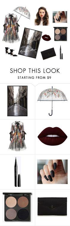 """Rain in Paris"" by xgalaxyunicornx on Polyvore featuring Pottery Barn, Vera Bradley, Elie Saab, Lime Crime and Yves Saint Laurent"