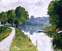 River Scene by Albert Marquet