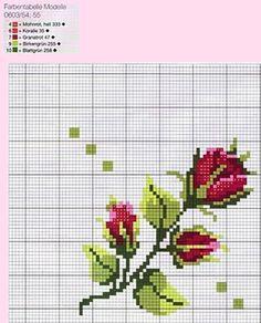 Cross Stitch Pattern Maker, Cross Stitch Love, Cross Stitch Borders, Cross Stitch Flowers, Cross Stitch Charts, Cross Stitch Designs, Cross Stitching, Cross Stitch Embroidery, Hand Embroidery