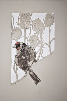 Sue Brown Printmaker cut outs More