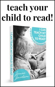 This eBook is a great resource for parents looking to help their child learn to read!