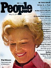 Pat Nixon People Magazine May 27 1974 People Magazine, Life Magazine, Jamie Wyeth, Us First Lady, May 27, Mary Stuart, New Career, Vintage Magazines, Three Kids