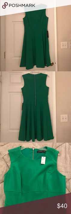 The Limited Dress. Size 10. NEVER WORN. Green dress from The Limited. Size 10. The Limited Dresses