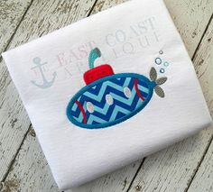 Submarine Applique - 3 Sizes! | What's New | Machine Embroidery Designs | SWAKembroidery.com East Coast Applique