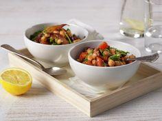 Kikertgryte Fajitas, Vegan Vegetarian, Baked Goods, Serving Bowls, Baking, Vegetables, Healthy, Tableware, Kitchen