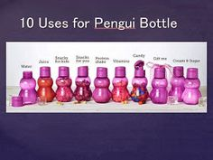 Inspiration CAN be found EVERYWHERE!: Super Cute Tupperware Bottles