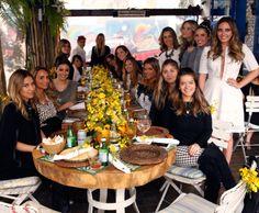 Lançamento da coleção Skazi, Restaurante Aragon, São Paulo! Clarissa Wagner e amigas!