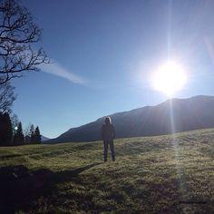 Sonnigen guten Morgen aus dem #Kleinwalsertal. #Lebensfeuer pur Portal, Mountains, Instagram Posts, Nature, Travel, Pictures, Time Out, Feel Better, Environment