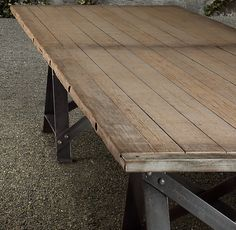 Saw Horse Table For My Porch Herbs Quick Company