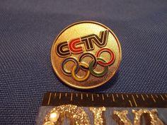 2016 Rio Olympic Media Pin CCTV (China Central Television) #5