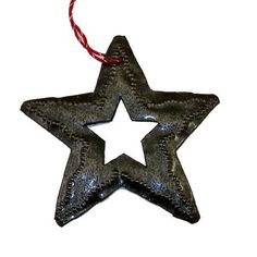 Hand Crafted Steel Holiday Ornaments