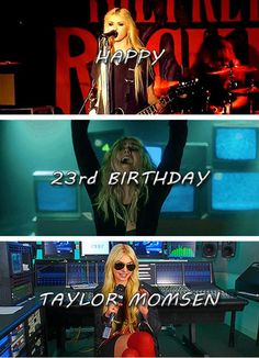 Happy 23rd Birthday Taylor Momsen!!!