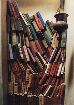 Every tiny and empty little corner should be filled with books. Stunning.