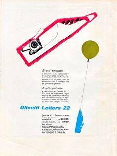 Olivetti advert designed by Giovanni Pintori