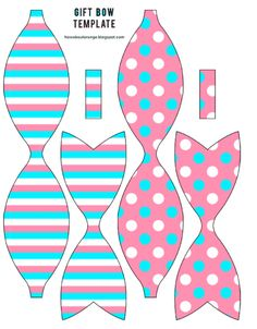 Making Hair Bows, Diy Hair Bows, Diy Bow, Diy Crafts To Do, Paper Crafts, Bow Template, Templates, Baby Boy Themes, Bow Pattern