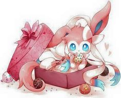 Sylveon ♡ I give good credit to whoever made this Pokemon Stuff 807fd44254a2