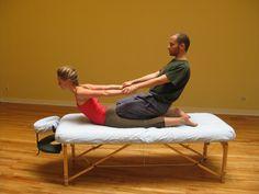 Table Thai Yoga Massage - Cobra!