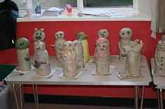 Just Pottering: Introducing 6th Morpeth Scout Group and their Amazing Earthenware Christmas Freak Show