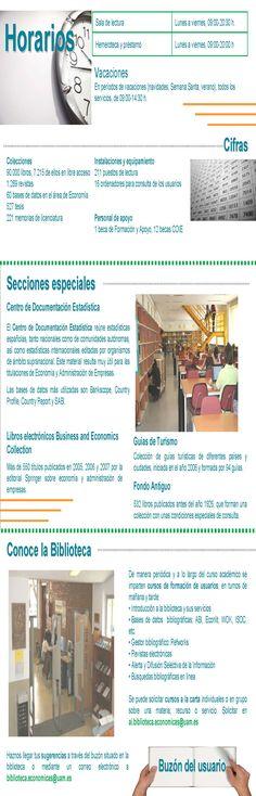 Guía de centro Biblioteca de Económicas parte interior (2007)