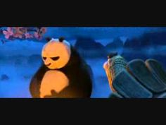 Kung Fu Panda - Po worrying about what has happened and what might happen rather than simply being in the present moment.