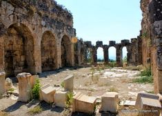 Exploring the Tlos Ruins Near Fethiye ~ My Traveling Joys
