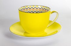 Toto Jumbo Cup and Saucer Yellow | T2 Tea...I adore this.