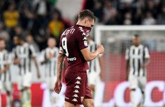 Andrea Belotti of Torino FC reacts after the Serie A match between Juventus and Torino FC on September 23, 2017 in Turin, Italy.