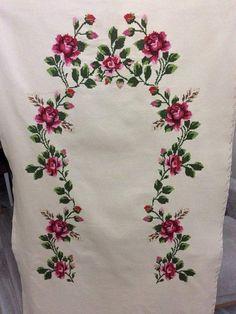Crewel Embroidery, Machine Embroidery Designs, Diy And Crafts, Shabby Chic, Cross Stitch, Creative, Mavis, Tableware, Home Decor