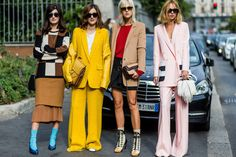 Fall Outfit Inspiration - MFW Street Style Photos 2016