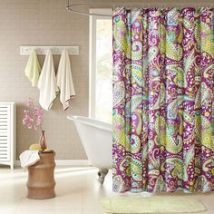 Found it at AllModern - Kayla Shower Curtain