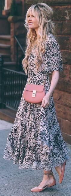 Paisley Print Maxi Dress | Barefoot Blonde Source