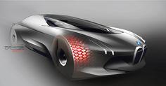 BMW Vision Next 100 (2016) on Behance