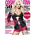 Nov issue: Tulisa is Cosmo's cover star!