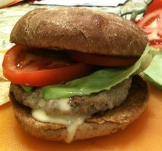 Sweet and saucy, like me ;)   Apple Maple Turkey Burgers with Maple Dijon Sauce -- Juggling With Julia