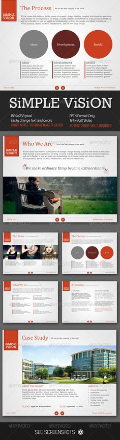Simple Vision PowerPoint Presentation