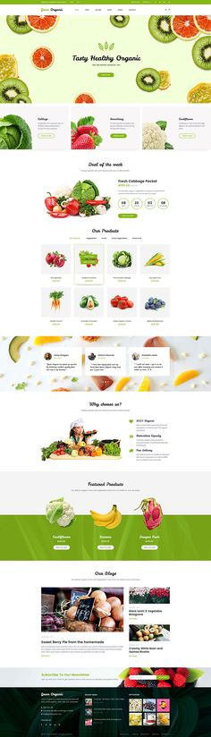 #Green #Organic - Organic #Store & Bakery #WooCommerce WordPress Theme