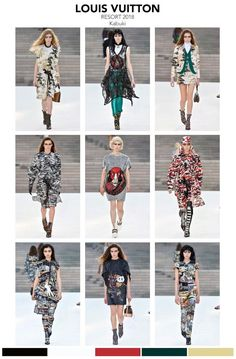 """LOUIS VUITTON 2018 collection """"Kabuki""""The runway show was set in Kyoto Japan. The collection, Japanese inspired Kabuki, Samurai while channeling David Bowie. To view the complete collection and the"""