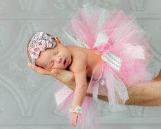 Pink & Gray Full Tutu Tulle princess costume by MalishkaBoutique, $19.95