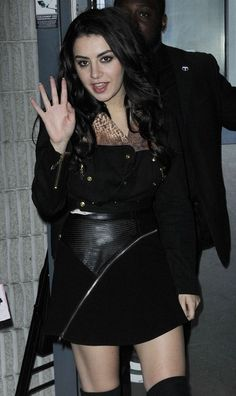 Charli XCX Night Out in Paris
