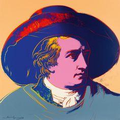 Andy Warhol, Goethe, 1982 :More At FOSTERGINGER @ Pinterest