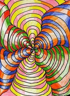 Artsonia Art Museum :: Artwork by illusion art unit Illusion Kunst, Illusion Art, Middle School Art Projects, Art School, School Ideas, 5th Grade Art, Ecole Art, Art Brut, Art Moderne