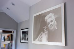 'Smoking Munro' in Large (110cm x 80cm). This, and more available at photocarve.co.uk