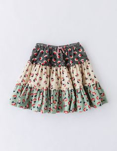 Twirly Frill Skirt 32741 Skirts At Boden - Diy Crafts Little Girl Skirts, Skirts For Kids, Little Girl Dresses, Baby Girl Skirts, Baby Skirt, Toddler Skirt, Baby Dress Design, Baby Girl Dress Patterns, Kids Frocks Design