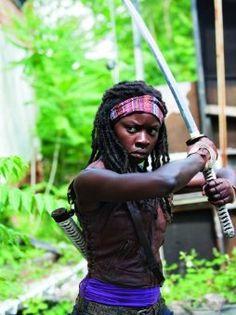 The Walking Dead! She is my favorite!!!